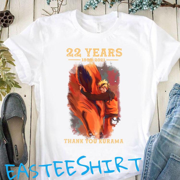 22 Years 1999 2021 Thank You Kurama Shirt Classic T-Shirt