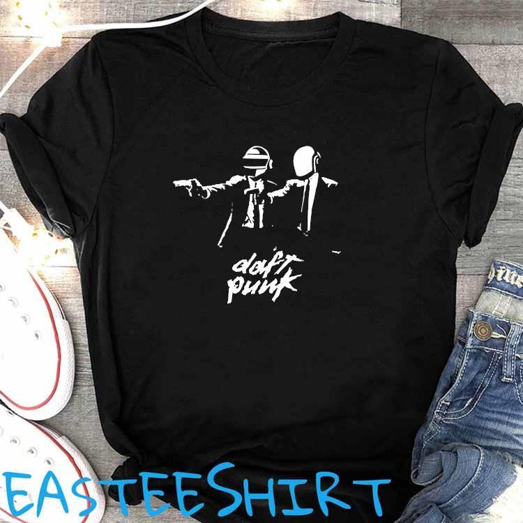 Daft Punk Fiction Essential Shirt Women's Shirt
