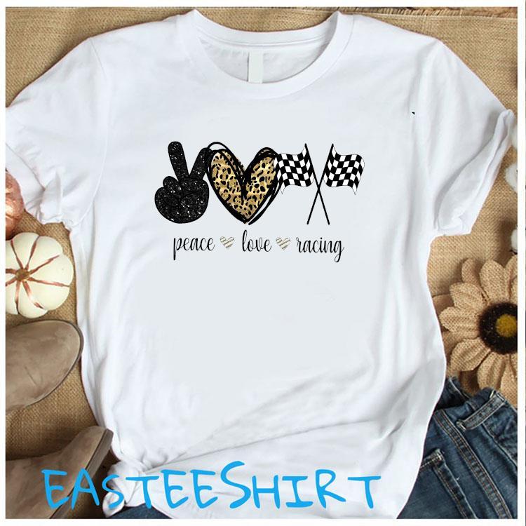 Peace Love Racing Shirt Women's Shirt