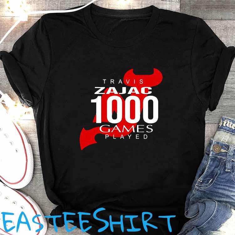 Travis Zajac 1000 Game Played Shirt Women's Shirt