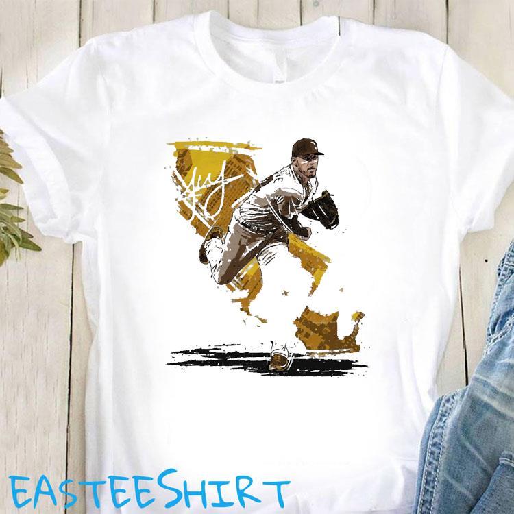 Joe Musgrove 44 San Diego Pittsburgh Baseball shirt