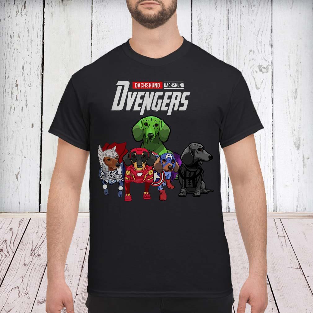 e035917c Marvel Avengers Dachshund Avengers shirt - Easteeshirt.com