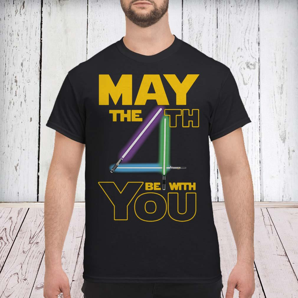 9aeb18aa Star wars may the 4th be with you shirt, sweater, hoodie and ladies ...