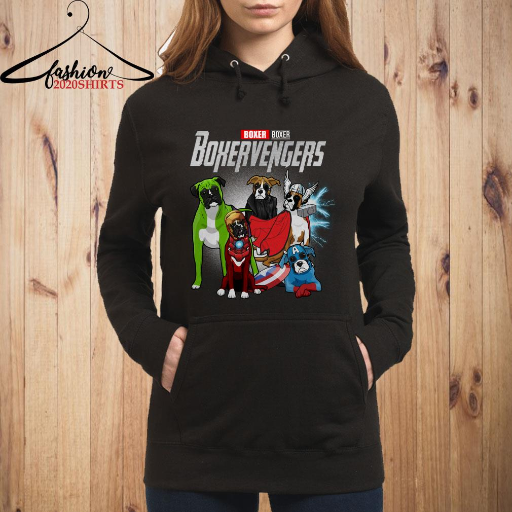 Boxervengers Boxer version hoodie