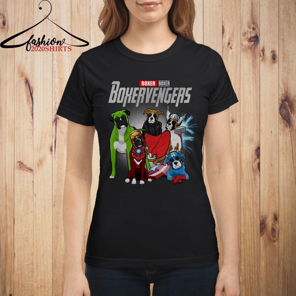Boxervengers Boxer version ladies shirt