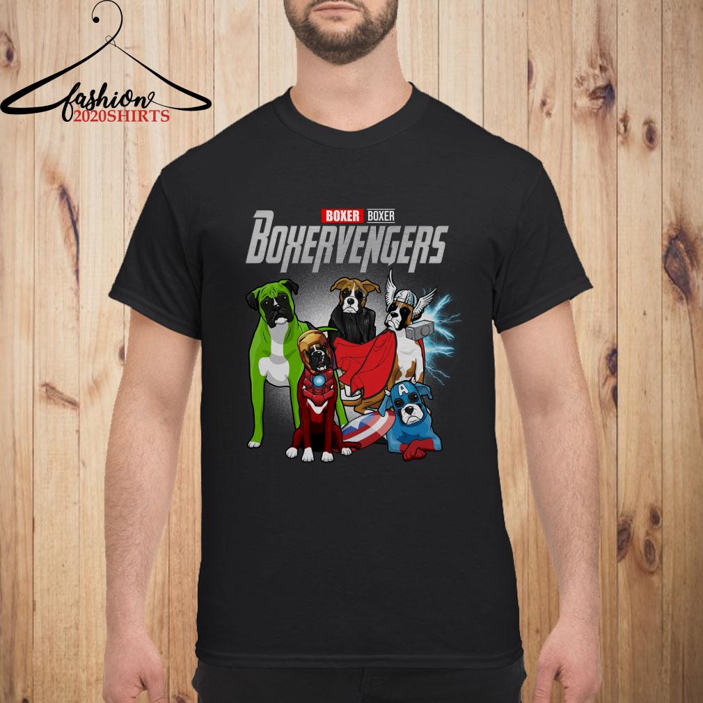 Boxervengers Boxer version men shirt