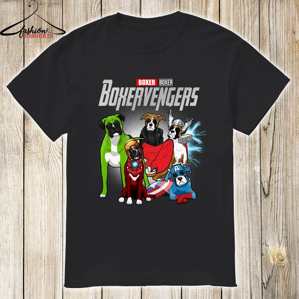 Boxervengers Boxer version shirt