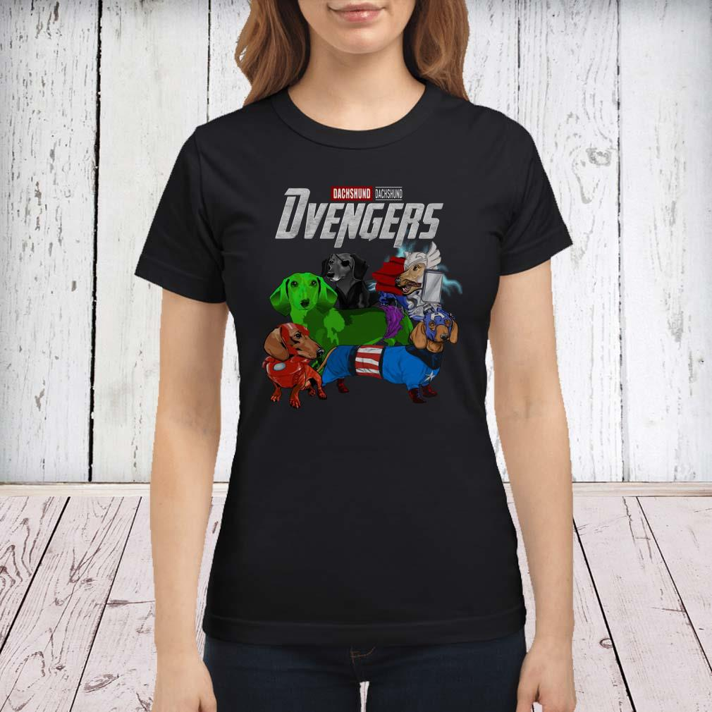 Dvengers Dachshund version ladies tee