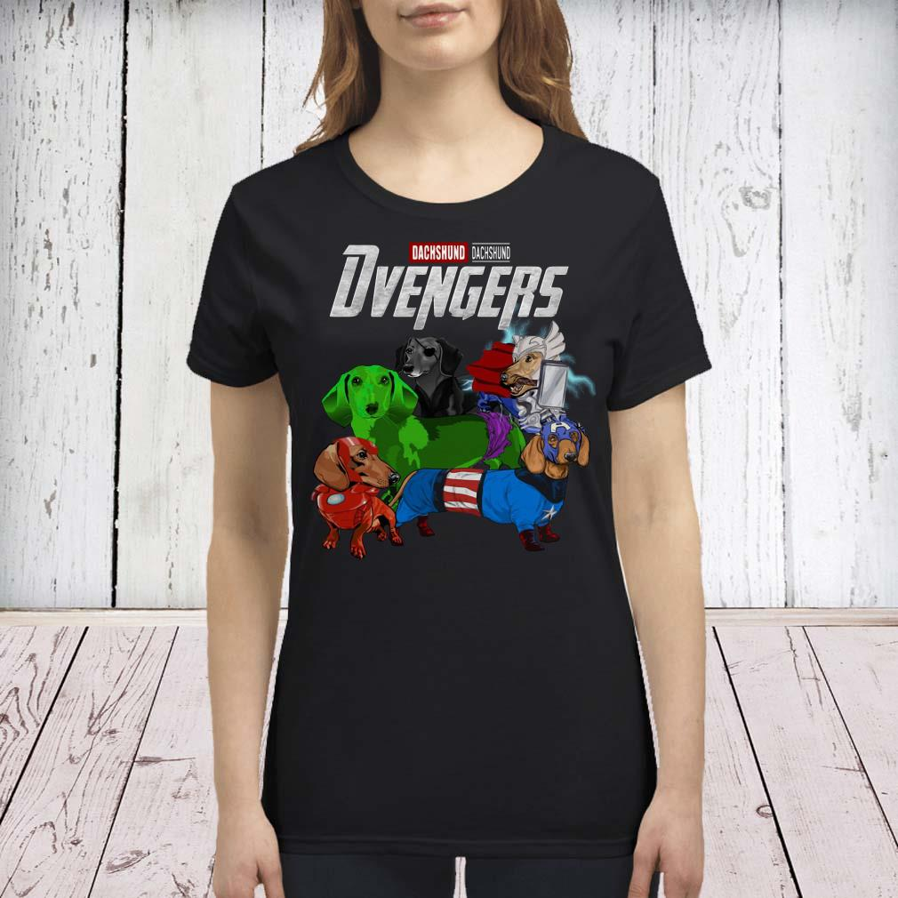 Dvengers Dachshund version premium shirt