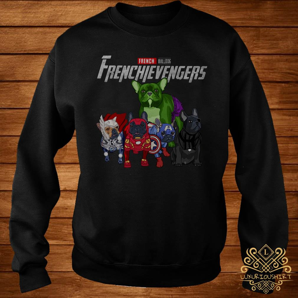 Frenchievengers French Bulldog sweater