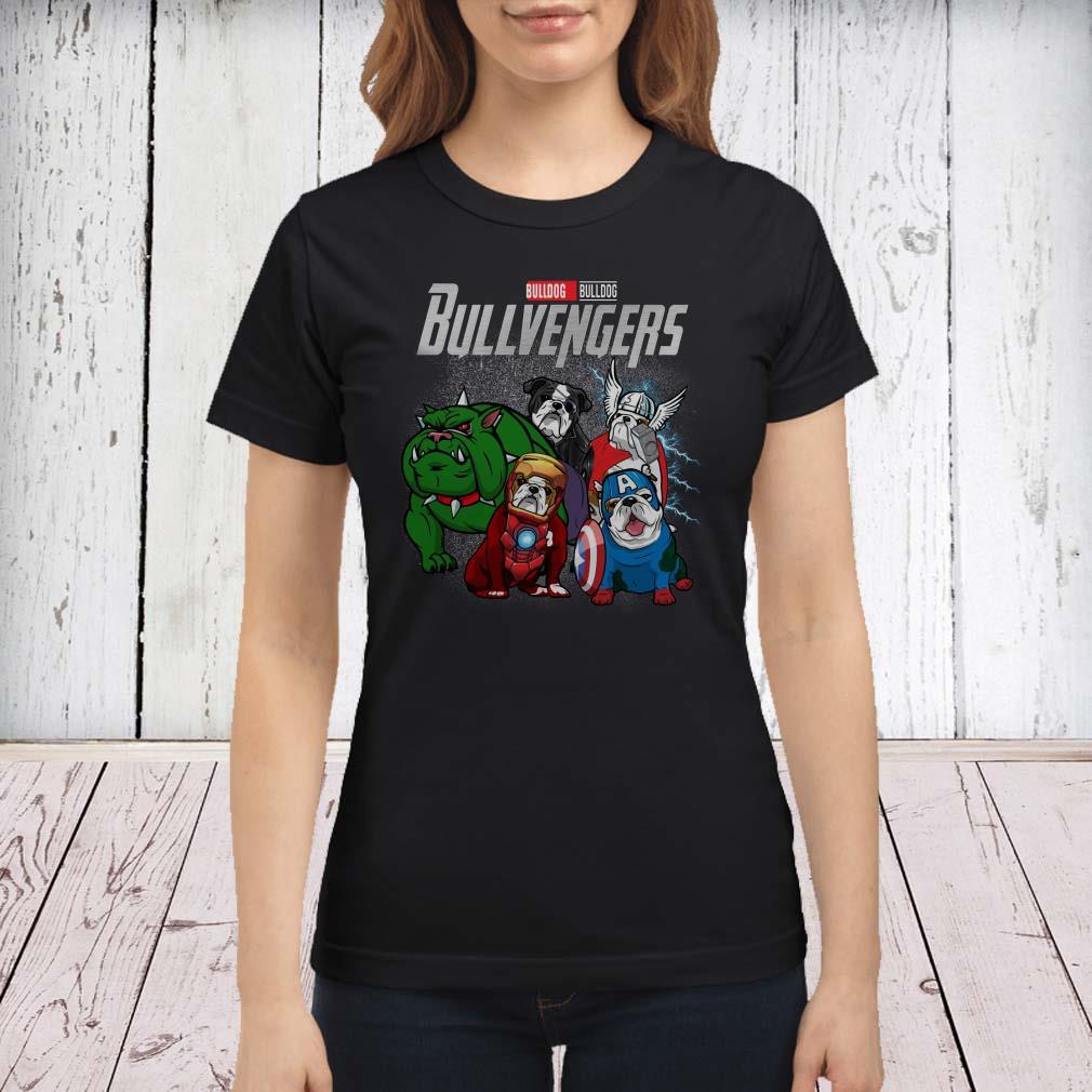 Marvel Avengers Endgame Bulldog Bull Avengers ladies tee