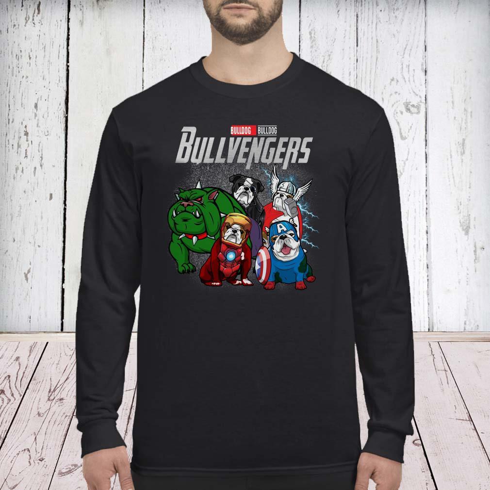 Marvel Avengers Endgame Bulldog Bull Avengers long sleevedMarvel Avengers Endgame Bulldog Bull Avengers long sleeved