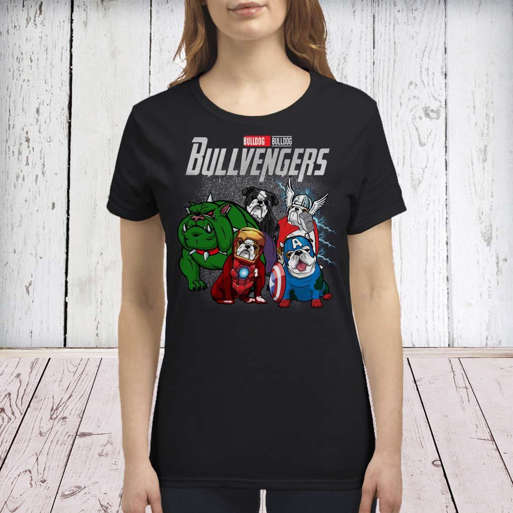 Marvel Avengers Endgame Bulldog Bull Avengers premium shirt