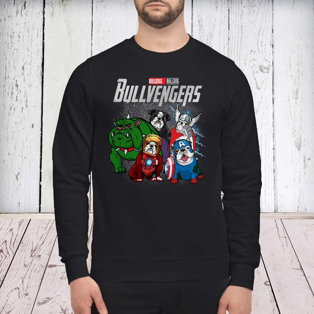 Marvel Avengers Endgame Bulldog Bull Avengers sweater