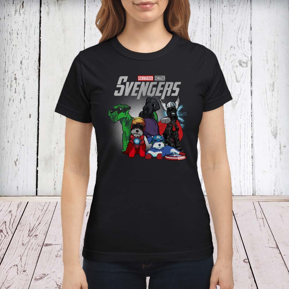 Marvel Avengers Schnauzer Svengers ladies shirt