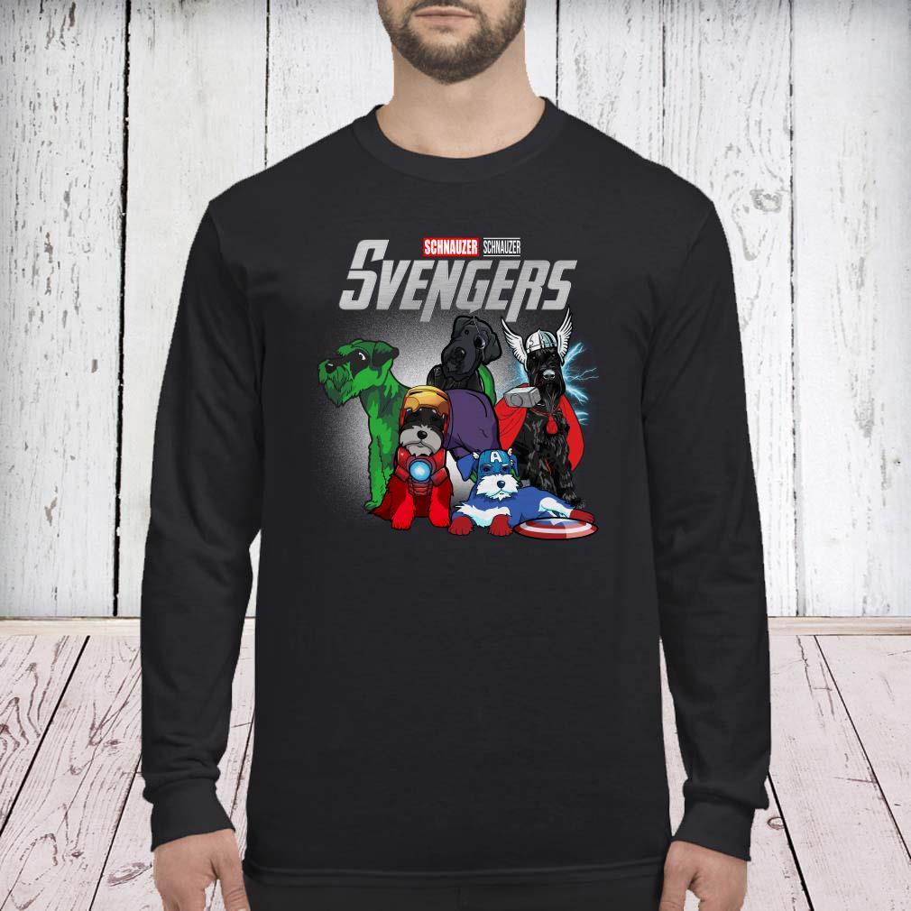 Marvel Avengers Schnauzer Svengers long sleeved