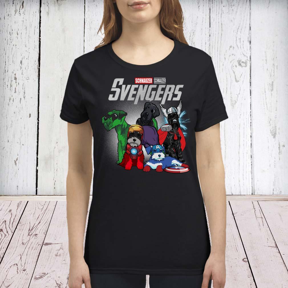 Marvel Avengers Schnauzer Svengers premium shirt