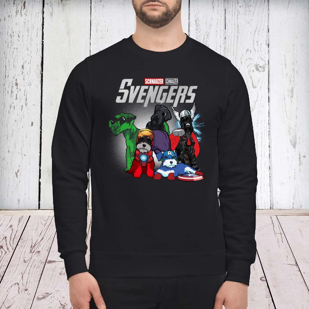 Marvel Avengers Schnauzer Svengers sweater