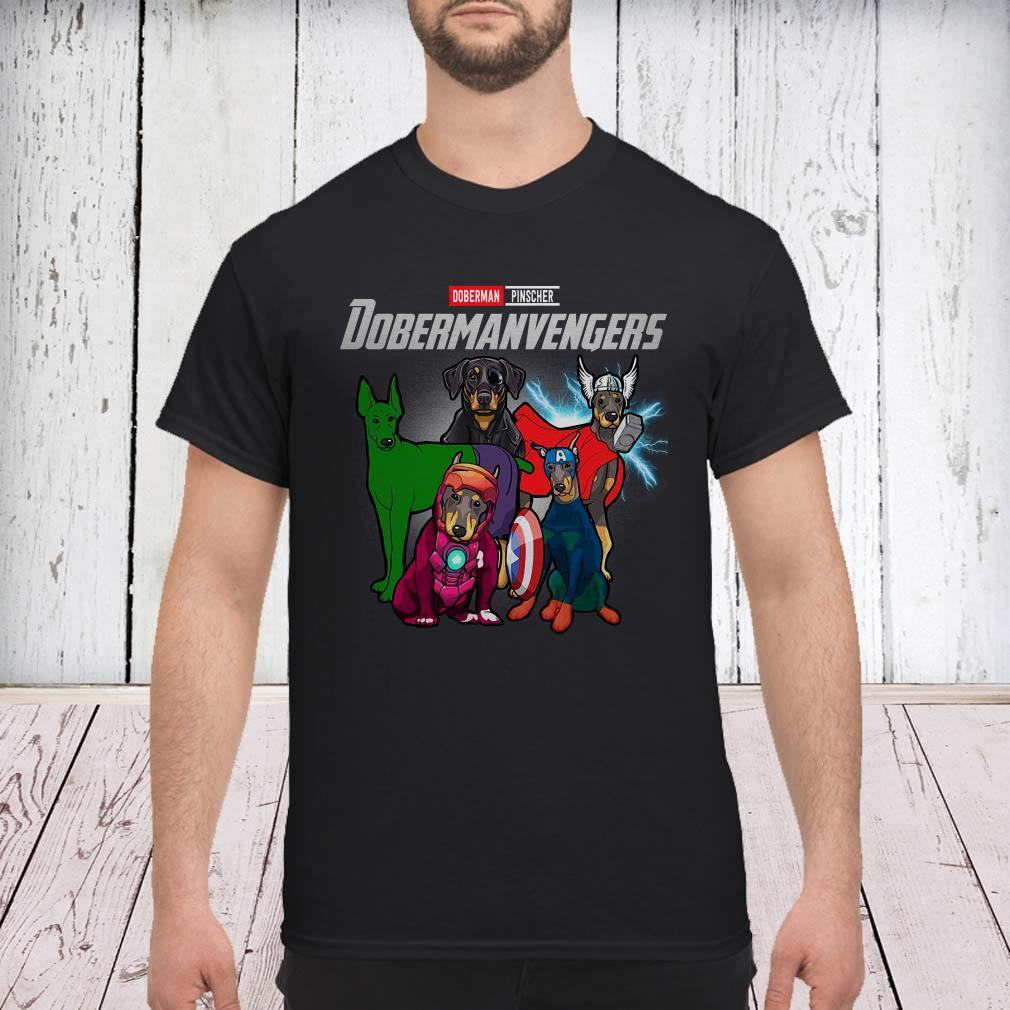 Marvel Avengers Doberman Pinscher Dobermanvengers shirt