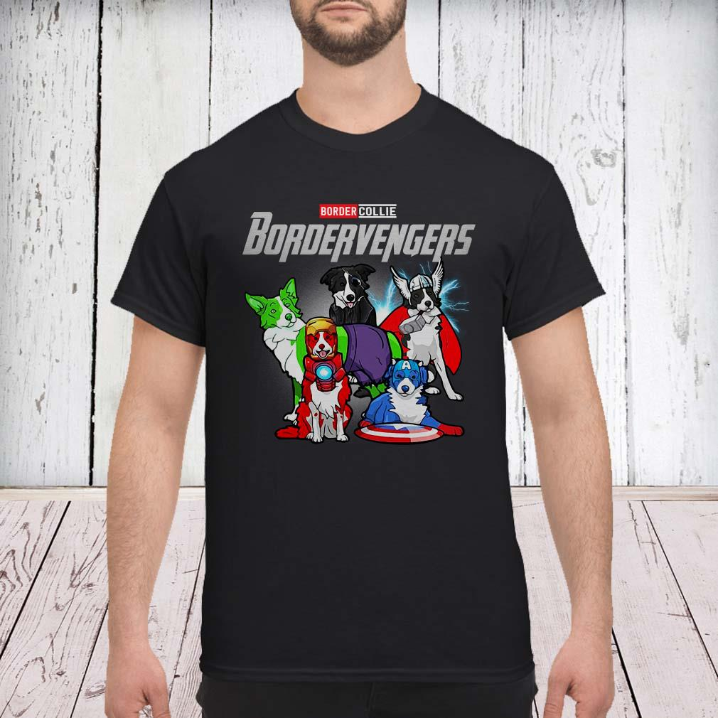 Marvel Avengers Border collie Bordervengers shirt