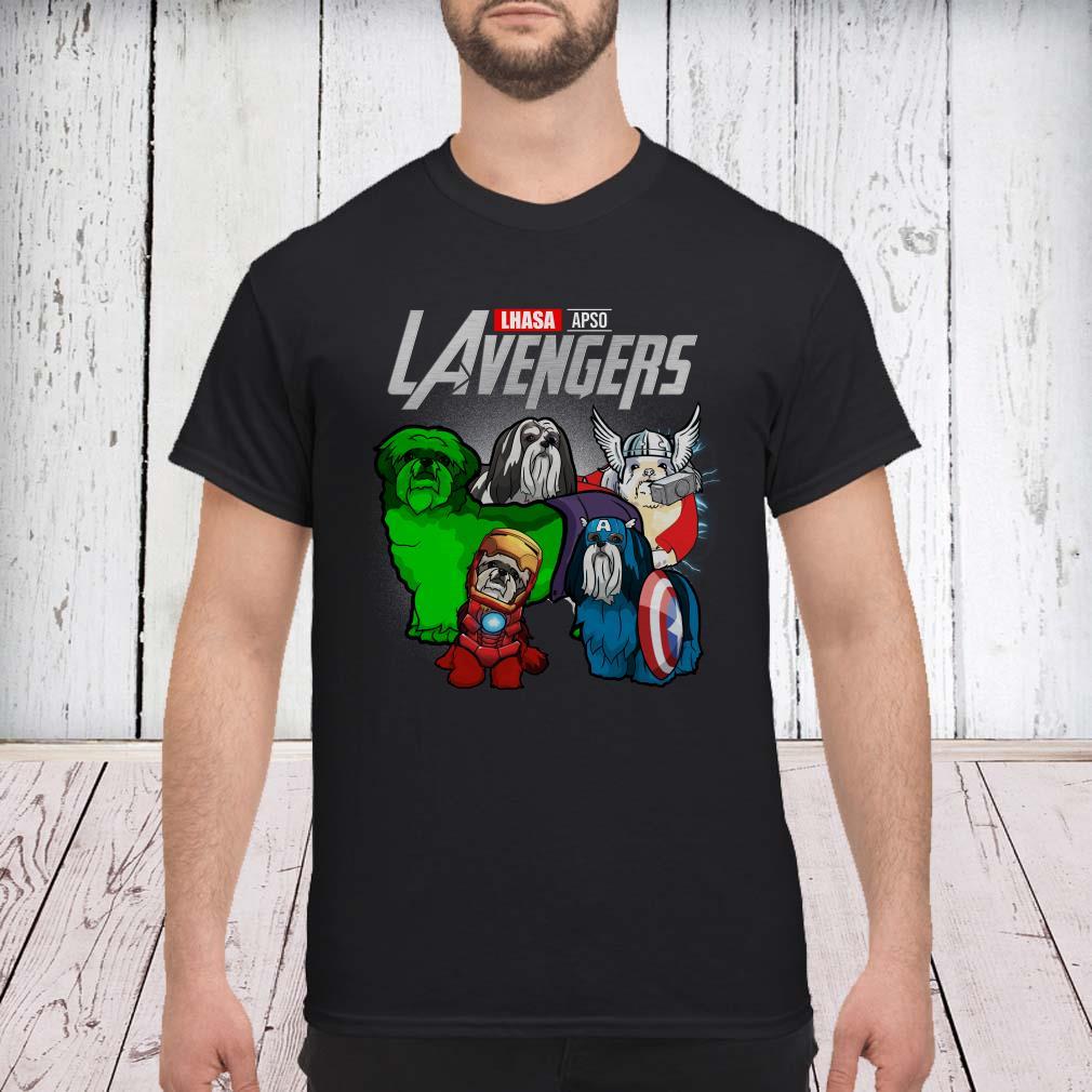 Marvel Avengers Endgame Lhasa Apso LAvengers shirt