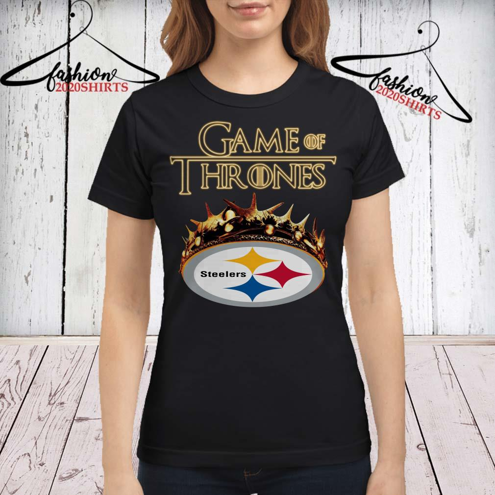 new arrival 75c85 e2e6c Game of Thrones Crown Pittsburgh Steelers shirt