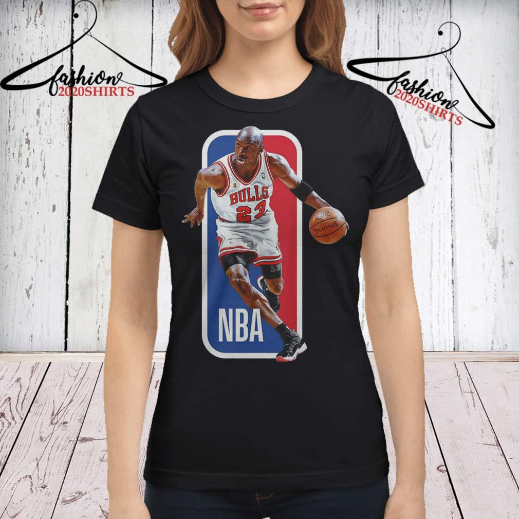 competitive price b6525 e77f2 Michael Jordan Basketball player Bulls 23 NBA shirt