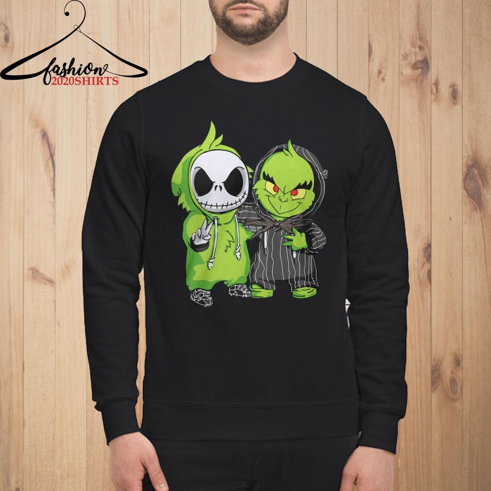 Baby Jack Skellington and Grinch Sweatshirt