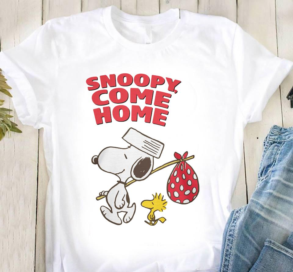 Snoopy And Woodstock Snoopy Come Home Shirt Classic T-Shirt