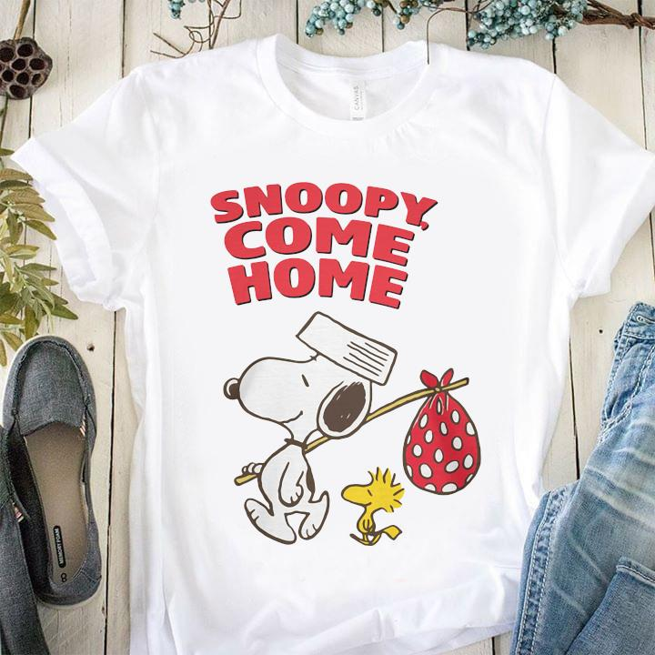 Snoopy And Woodstock Snoopy Come Home Shirt