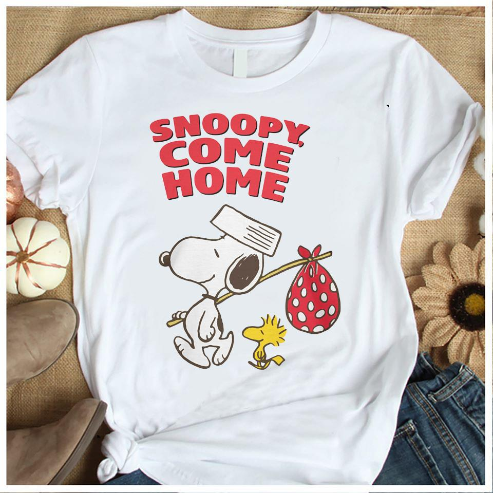 Snoopy And Woodstock Snoopy Come Home Shirt Women's Shirt