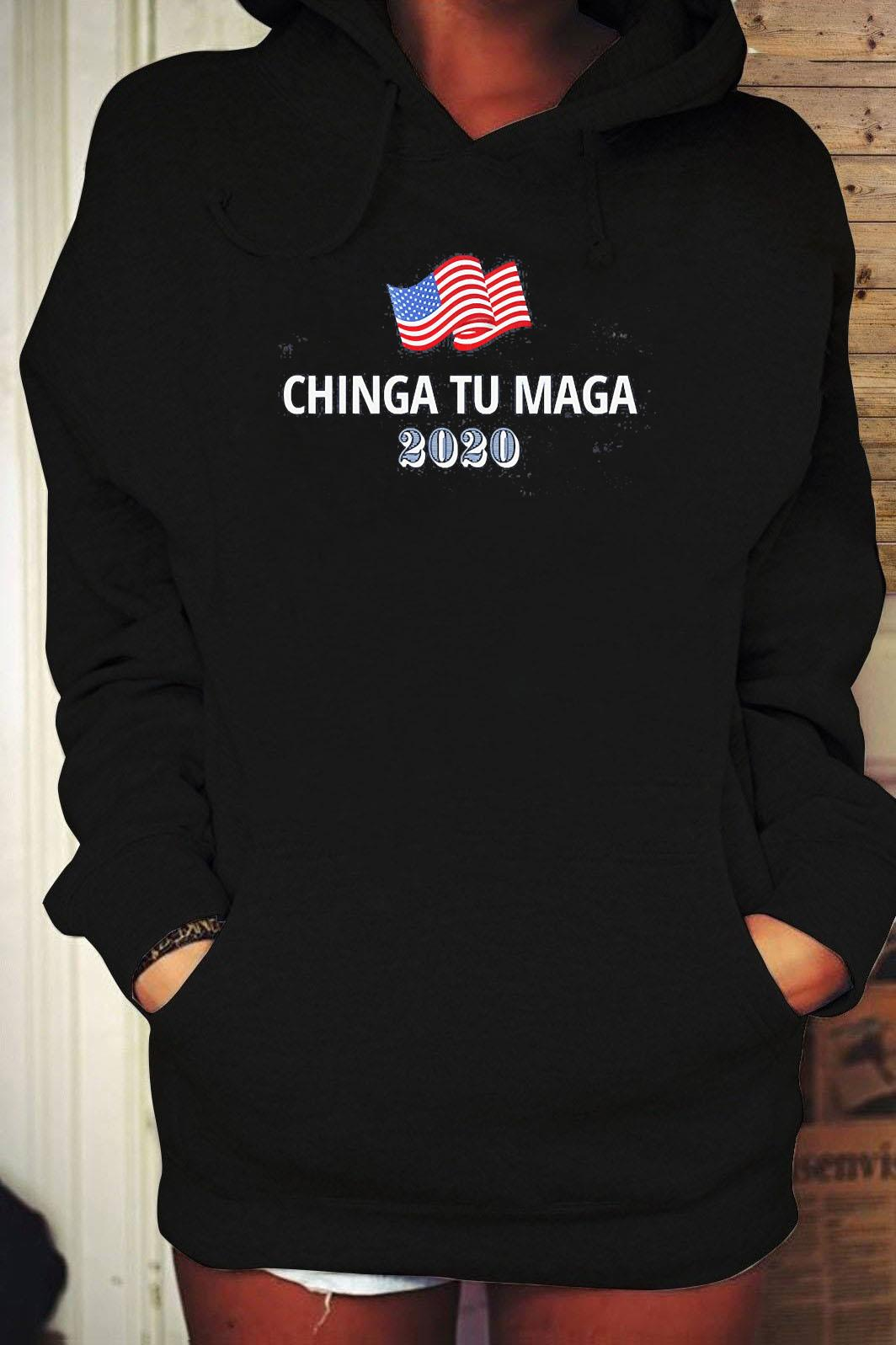 Chingatumaga Yard Sign Chingatumaga 2020 Yard Sign Election 2020 Vote Shirt Hoodie