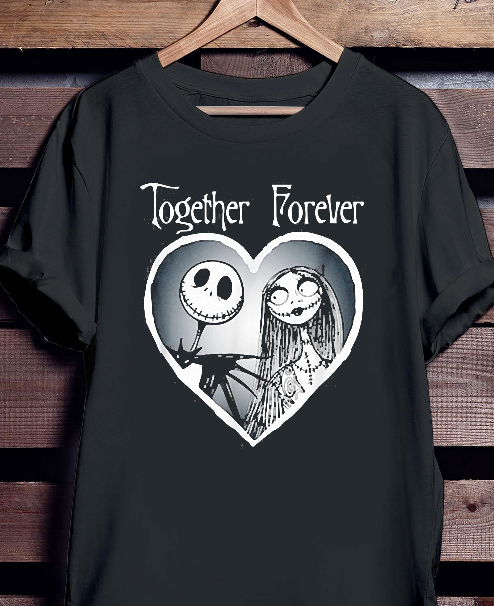 Nightmare Before Christmas Together Shirt