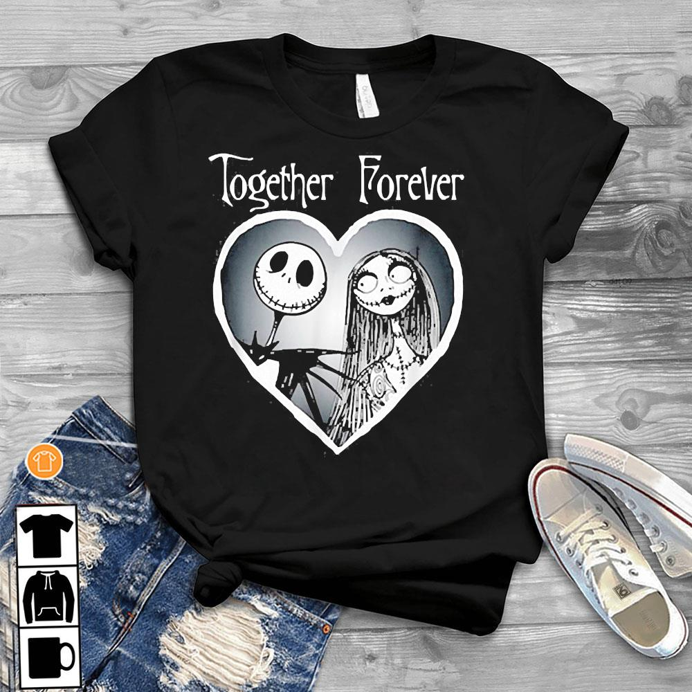Nightmare Before Christmas Together Shirt T-Shirt