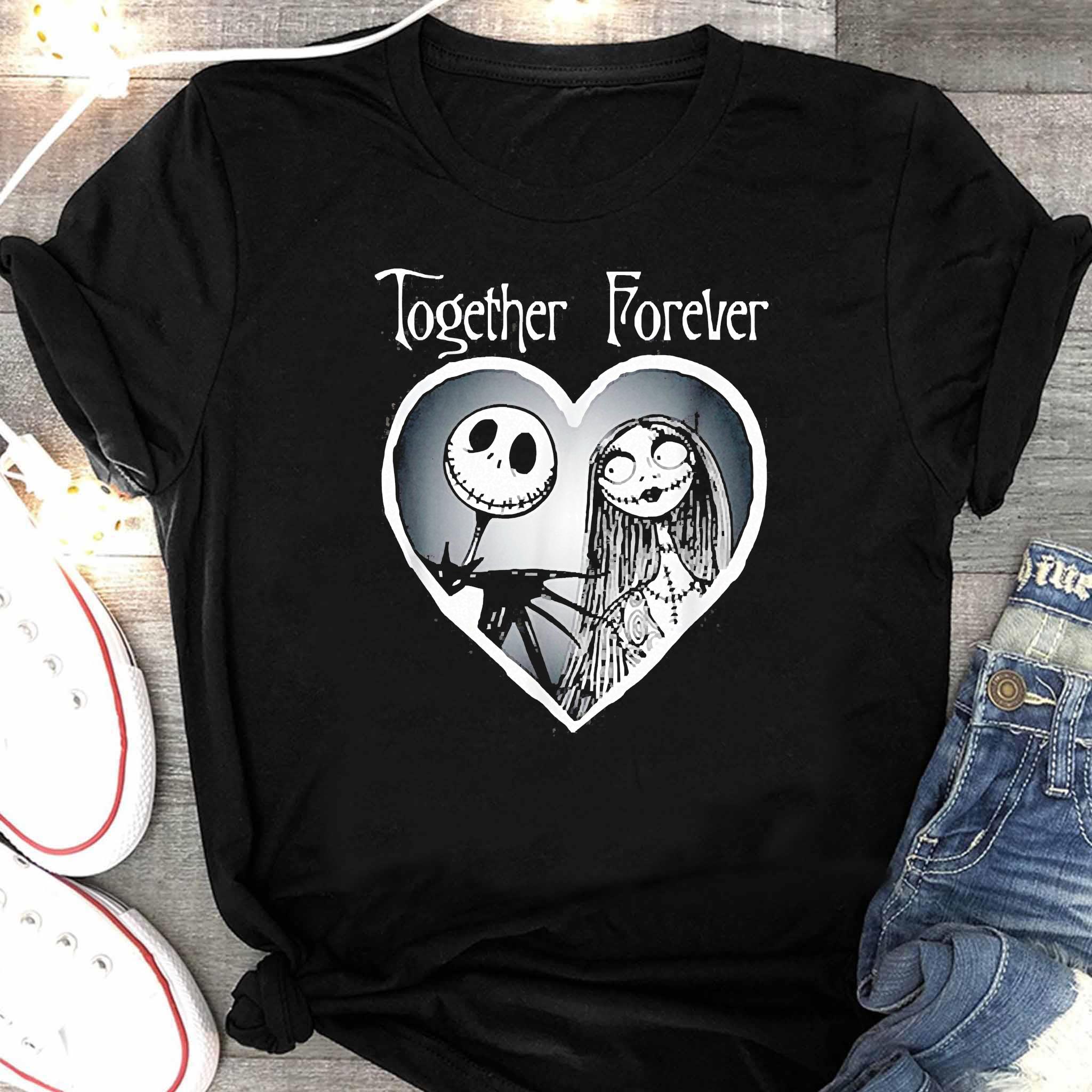 Nightmare Before Christmas Together Shirt Women's Shirt