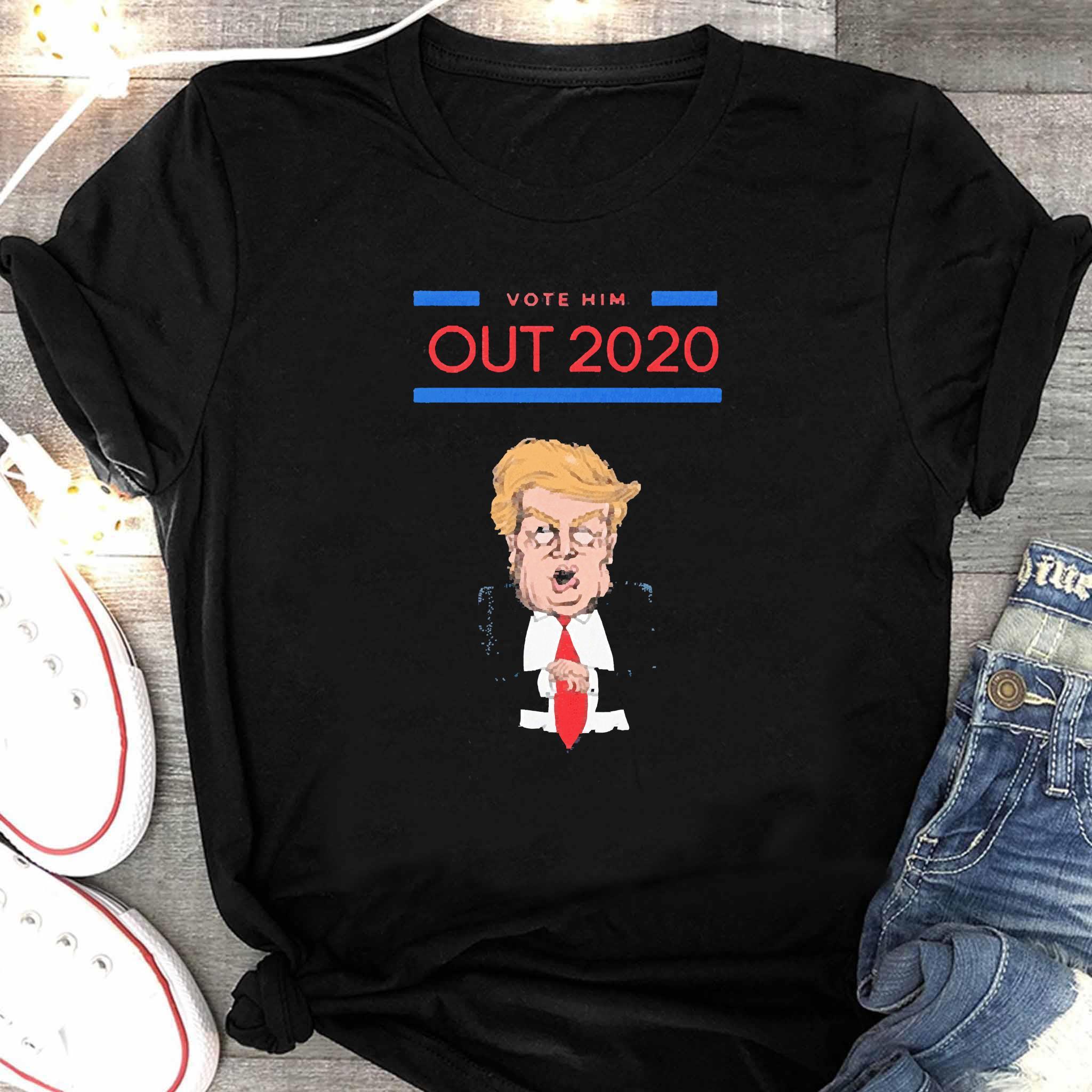 Vote Him Out 2020 Donald Trump Shirt Women's Shirt
