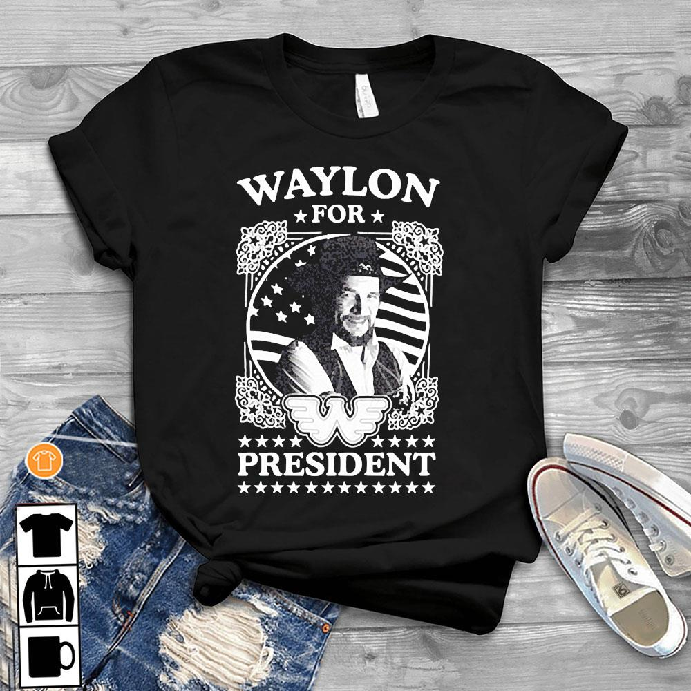 Waylon For President Us Flag Shirt T-Shirt