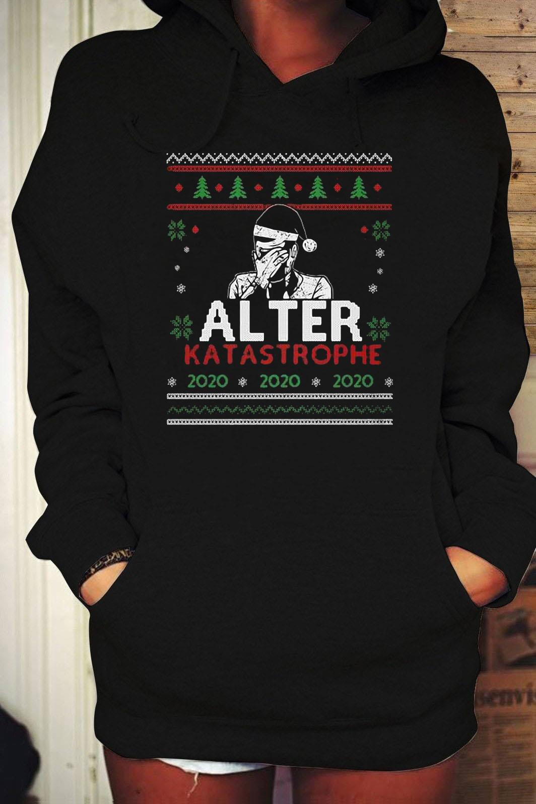 Alter Katastrophe Ugly Christmas Sweater Hoodie