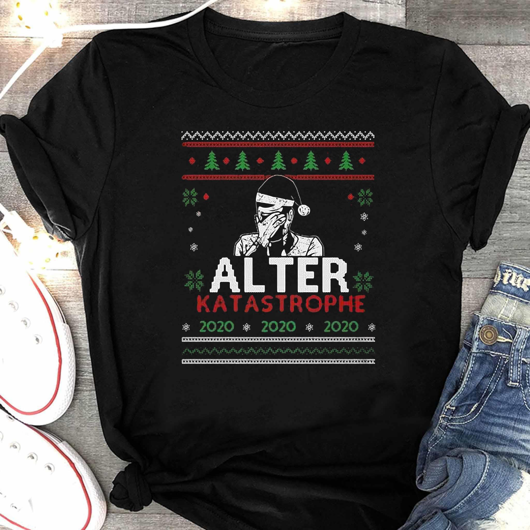 Alter Katastrophe Ugly Christmas Sweater Women's Shirt