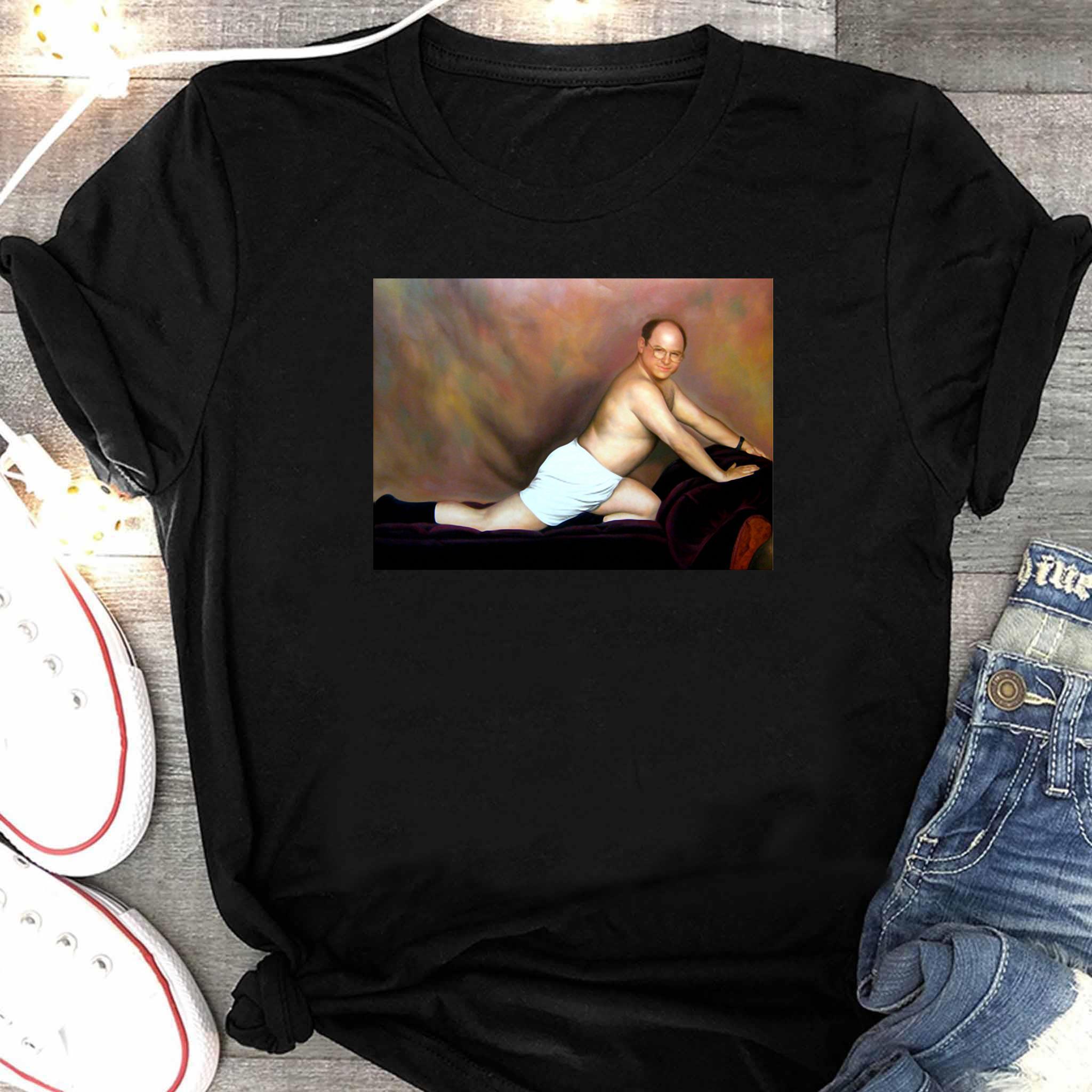 George Costanza Painting Shirt Women's Shirt