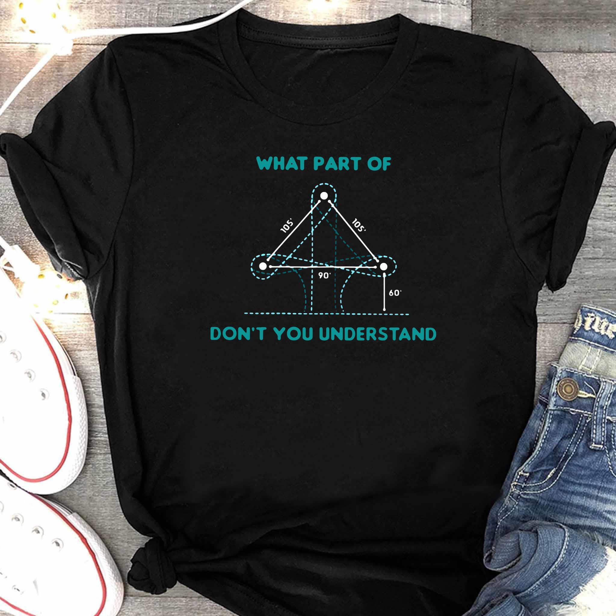 What Part Of Don't You Understand Barrel Racing Shirt Women's Shirt