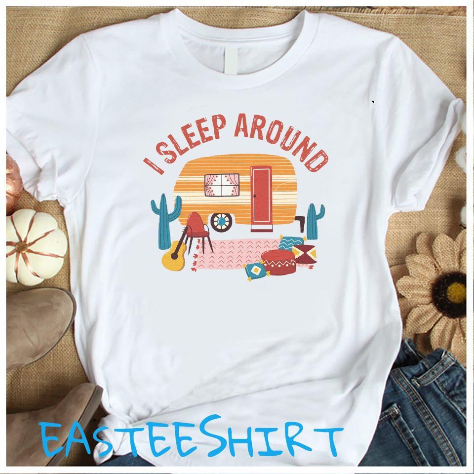 Camping I Sleep Around Shirt Women's Shirt