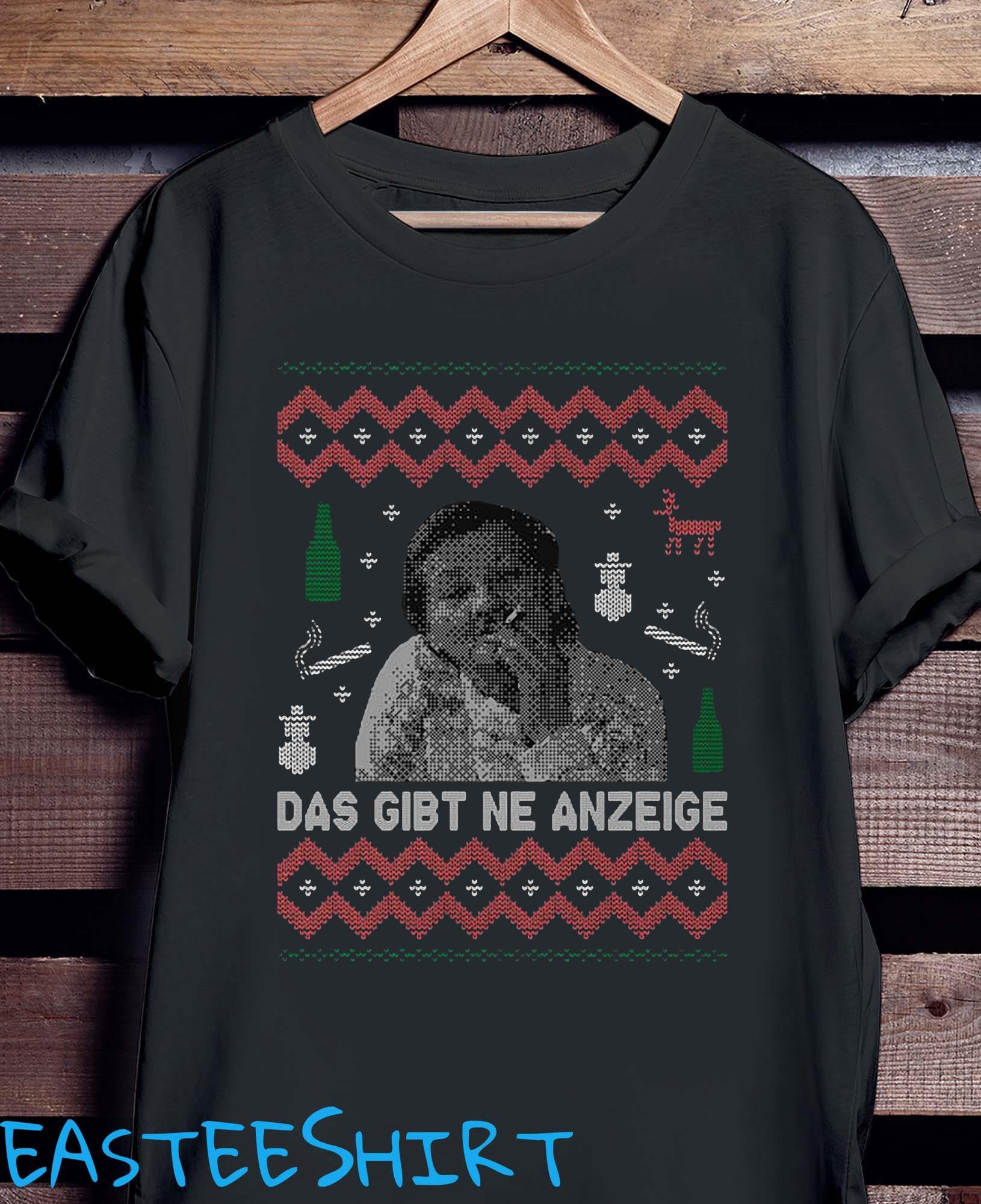Das Gibt Ne Anzeige Ugly Christmas Sweater