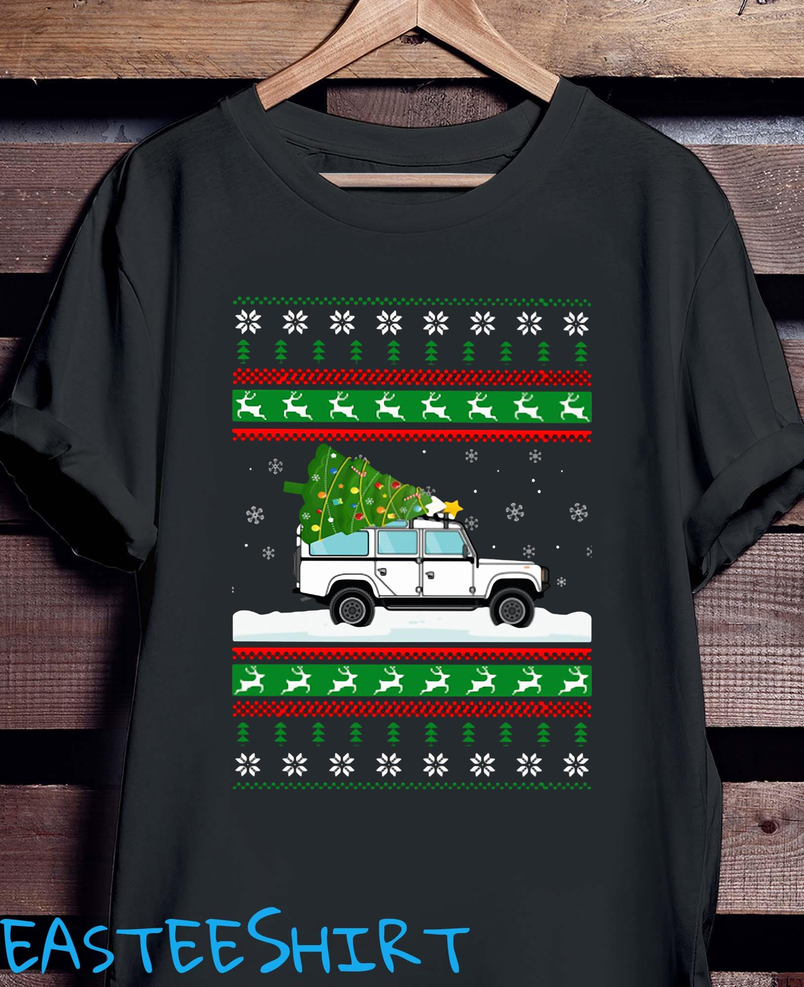 Defender Christmas Tree Ugly Sweater